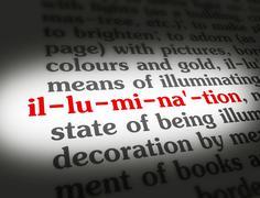 Stock Illustration of Dictionary illumination