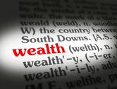 Stock Illustration of Dictionary wealth