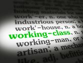 Stock Illustration of Dictionary working class