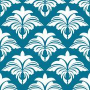 Stock Illustration of azure seamless pattern