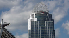 Famous skyscraper Great American Insurance Group Cincinnati Stock Footage