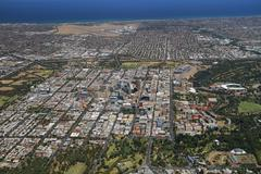 Aerial adelaide Stock Photos