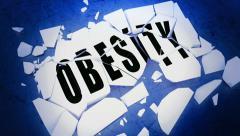 Breaking obesity Stock Footage
