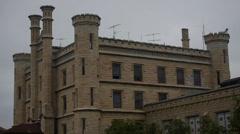 Prison, Joliet correctional facility Illinois Stock Footage