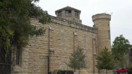 Stock Video Footage of Prison, Joliet correctional facility Illinois