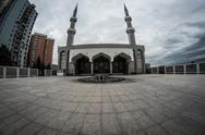 Stock Photo of mosque in sarajevo bosnia and herzegovina