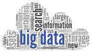 Stock Illustration of big data concept in word cloud