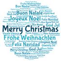 Stock Illustration of merry christmas 2014 in tag cloud