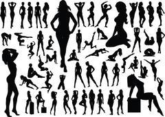 women - stock illustration