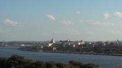 Havana Cuba Panorama City Buildings - stock footage