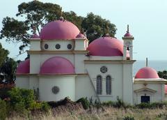 church of the twelve apostles. - stock photo