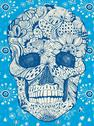 Stock Illustration of floral skull