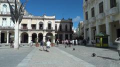 Tourism In Old Havana Cuba - stock footage