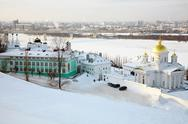 Stock Photo of annunciation (blagoveschensky) monastery in nizhny novgorod, russia