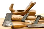 Stock Photo of old used tools