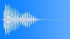 Cartoon fly away voice - high Sound Effect