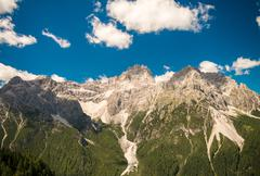 Amazing alpin landscape Stock Photos