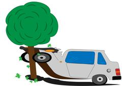accident - stock illustration