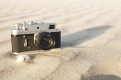Vanha kamera Kuvituskuvat