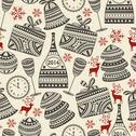 Stock Illustration of vector seamless holiday pattern