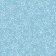 Stock Illustration of vector seamless pattern with snowflakes