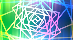 Abstract multicolored lines episode 3 Stock Footage