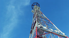 Television tower Stock Footage