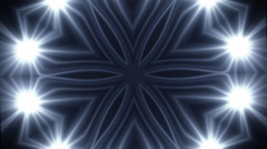 Flash Kaleidoscope 27 - Alpha Channel Stock Footage