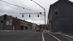 Calm Street in  Elizabethtown Kentucky Historic District Stock Footage