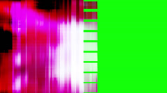 Flipped Geometric Wipe Green Screen - stock footage