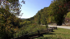 Great Nature at Natchez Trace Stock Footage