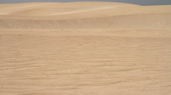 Sunbathers on the sand dune - stock footage