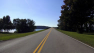 Stock Video Footage of Great view on Natchez Trace Parkway