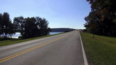 Tennessee River at Natchez Trace Parkway Stock Footage