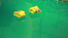 Buoys on Water 1 Stock Footage