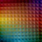 vector seamless geometric pattern - stock illustration