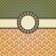 vector invitation card - stock illustration