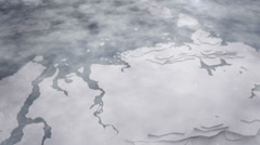 Snow-covered ice and arctic 3 Stock Footage