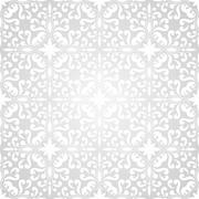 Stock Illustration of vector seamless floral wallpaper pattern