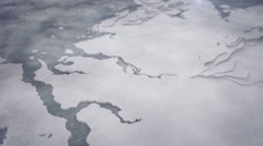 Snow-covered ice and arctic 5 Stock Footage