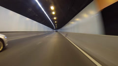 Driving around sydney - lane cove tunnel & m2 motorway Stock Footage