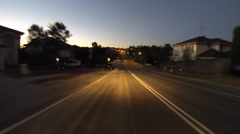 Driving around sydney - glenwood to north rocks Stock Footage