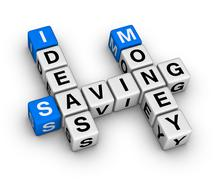 Ideas saving money crossword Stock Illustration