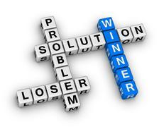 Winner and loser Stock Illustration