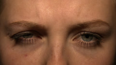Interesting look: Eye Stock Footage