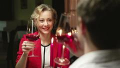 Romantic Evening Stock Footage