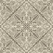 vector seamless vintage pattern - stock illustration