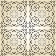 Stock Illustration of vector vintage seamless pattern