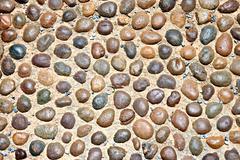 arrangement of the rock sphere. - stock photo