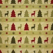 Vector seamless winter pattern, crumpled paper texture Stock Illustration